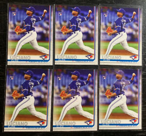 Elvis-Luciano-RC-Lot-6-2019-Topps-Update-Series-US74-Toronto-Blue-Jays