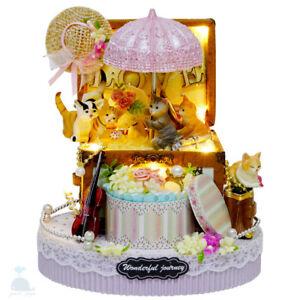 Fai da te artigianato miniatura progetto casa delle for Casa delle bambole fai da te