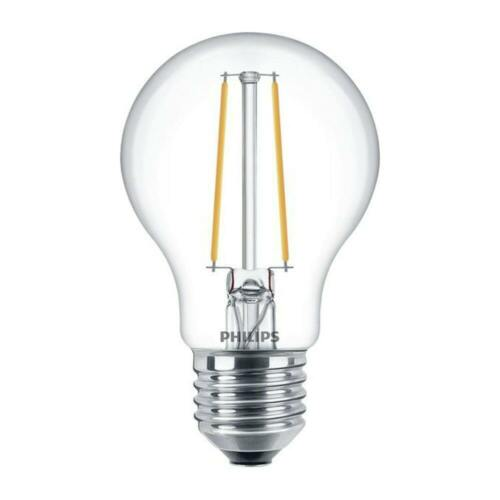 Philips 5.5w = 40w E27 Screw Cap LED Filament A60 Dimmable GLS Lamp