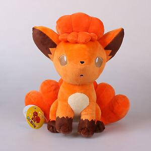 Offiziell-27Cm-Pokemon-Vulpix-rot-Plueschtiere-Kuscheltier-Pluesch-Stofftier-Puppe