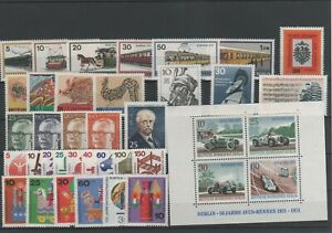 Germany-Berlin-vintage-yearset-Yearset-1971-Mint-MNH-complete-More-Sh-Shop