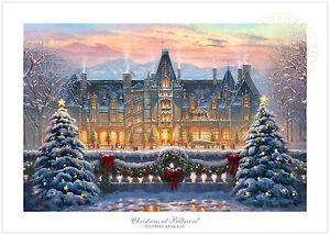image is loading thomas kinkade christmas at biltmore house 24 x - Biltmore House Christmas