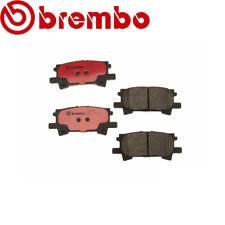RearDisc Brake Pad Brembo P83068N for Toyota Highlander Lexus RX330 RX350 RX400h