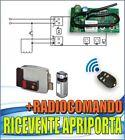 RICEVENTE PER SERRATURA ELETTRICA CON TELECOMANDO - APRIPORTA ELETTROSERRATURA