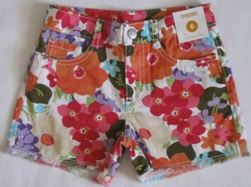 Gymboree Surf Adventure Shorts 3 4 5 7 8 9 New Girls Floral Tropical Flower