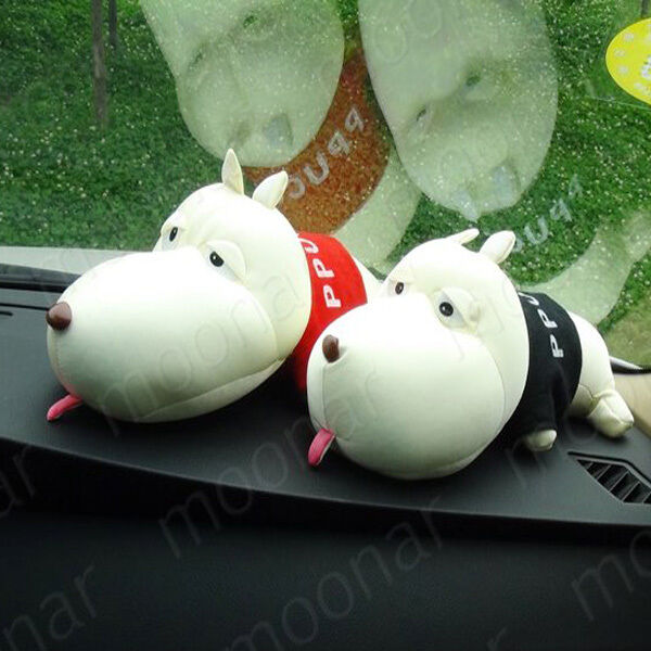 New Car Cute Cartoon Bamboo Charcoal Dog Decoration Doll Purify Air Freshener
