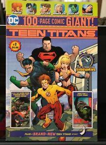 DC 100-PAGE GIANT # 6 7 Walmart TITANS BEAST BOY STAR FIRE ROBIN RAVIN