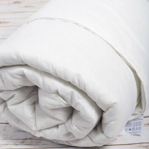 10.5 Tog Single Duvet Soft Hollowfibre Filling Microfibre Cover Anti Allergy