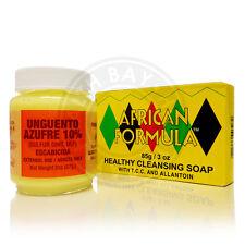 Sulfur Soap Ointment Acne Pimple Treatment Kit Tratamiento Crema Jabon de Azufre