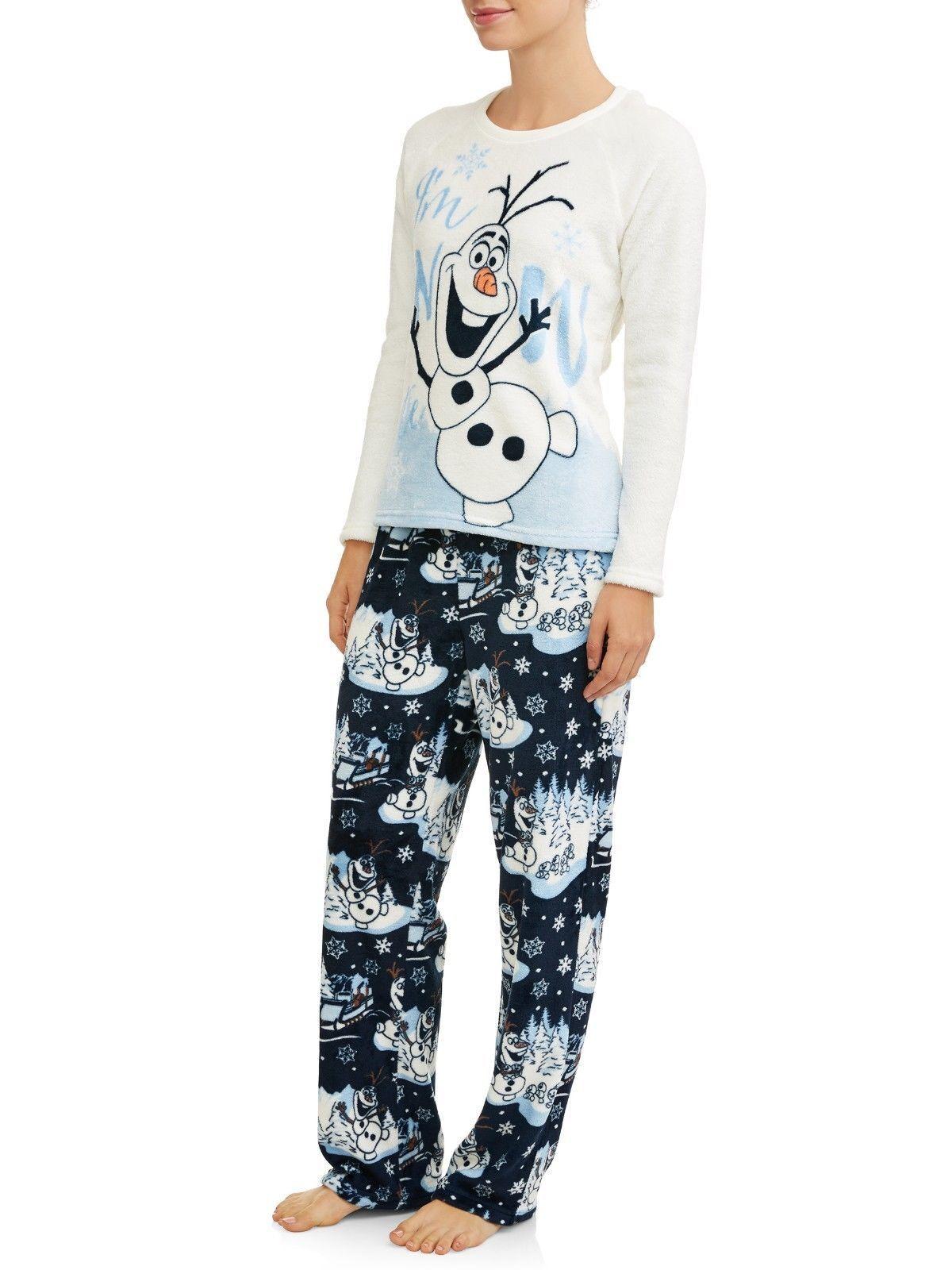 Olaf Frozen pajamas womens 3X set plush fleece Im so cute 22W 24W new K7
