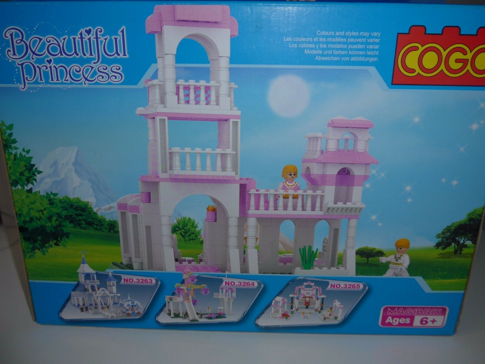 Beautiful Princess Cogo building set for ages 6 yrs + Get in time for Christmas