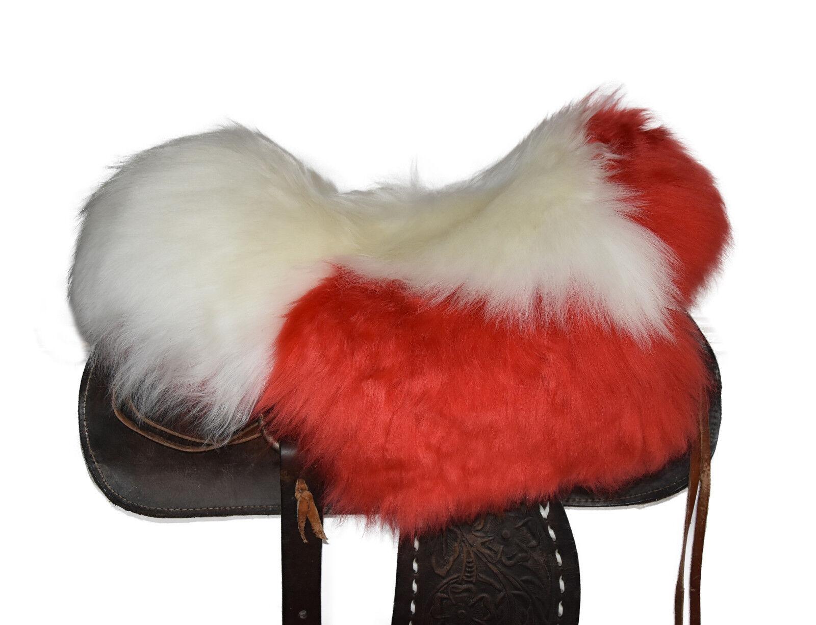 Agnello SELLA EDIZIONE Western Sella Lammfell riferimento saddle pad SEAT saver s353