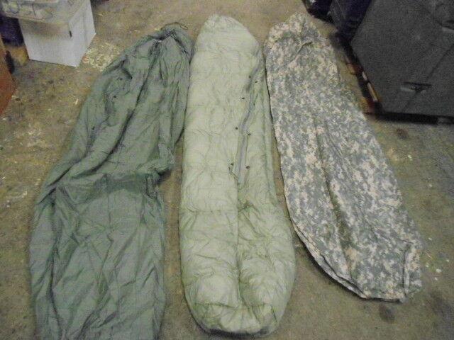 US Army 3 Piece ECWS Sleeping Bag