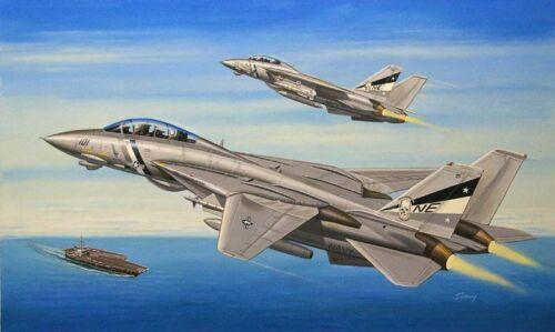 Neu Hobbyboss 80278-1:72 F-14D Super Tomcat