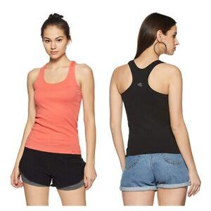 Jockey-Women-039-s-Cotton-Racerback-Tank-Top-Modern-fit-Lounge-Leisure-Active-Wear