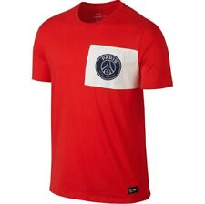 2d10919d3ce item 3 Nike PSG Paris Saint‑Germain FC Crest T‑Shirt Red White 832674-600  Mens SZ Small -Nike PSG Paris Saint‑Germain FC Crest T‑Shirt Red White  832674-600 ...