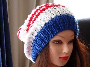 Hand Knitted Beanie Women's Winter Hat Australia Made