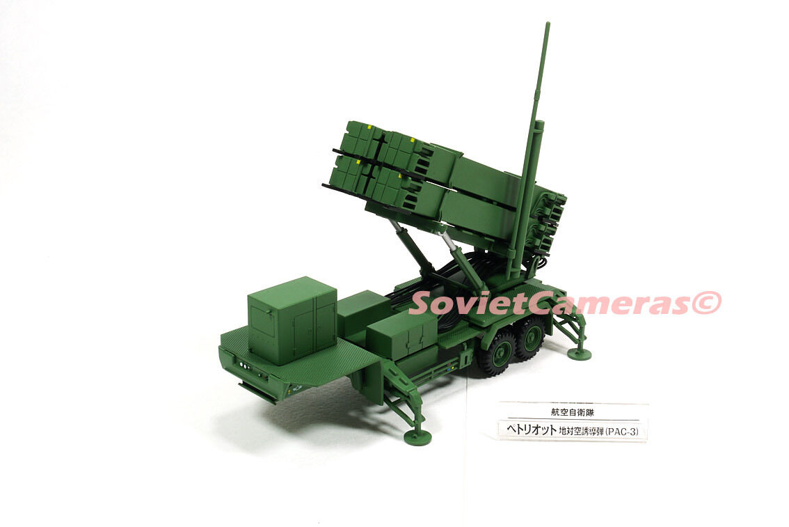 1/72 PATRIOT PAC-3 Anti-Ballistic Missile Defense Japanese Army JASDF Deagostini