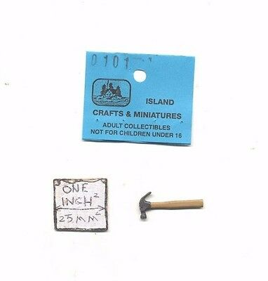 UMBRELLA 1//12 scale dollhouse metal miniature tool ISL2464.1