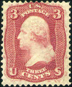 1861-United-States-Postage-Stamp-65E15H-56-Mint-Hinged-F-VF