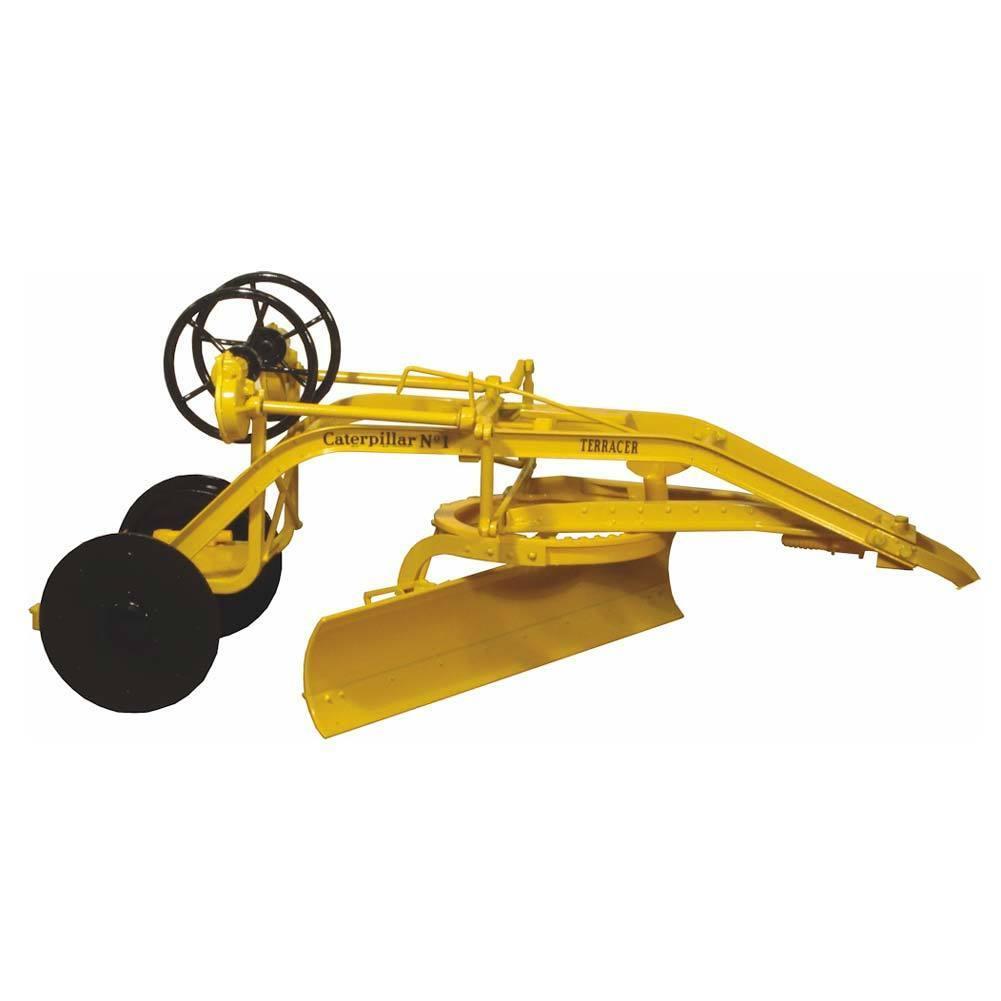 1/16 Caterpillar Nº 1 ruedas de tracción clasificadora con Negro terracer por Speccast Cust 1164