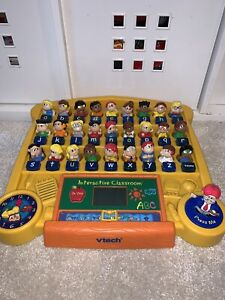 Vtech Interactive Classroom - Vintage - Educational Toy ...
