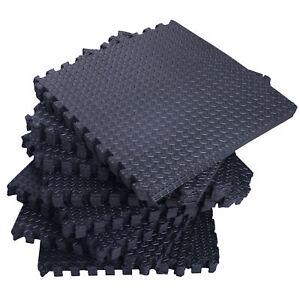 216-SqFt-Interlocking-Puzzle-Rubber-Foam-Gym-Fitness-Exercise-Tile-Floor-Mat-NEW