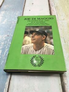 Joe DiMaggio: The Golden Year, 1941, by Al Silverman HB/DC First Edition 1969