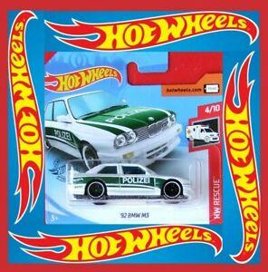 Hot-Wheels-2020-039-92-bmw-m3-policia-207-250-neu-amp-ovp