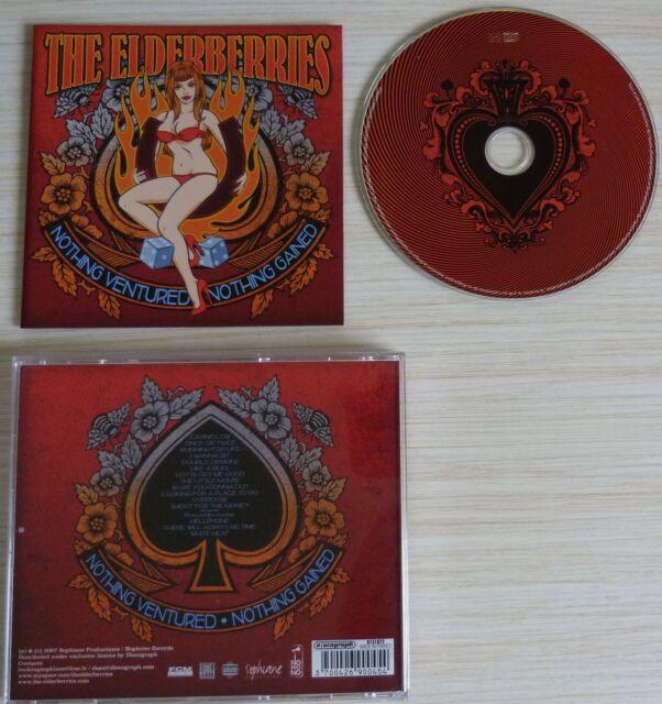 CD ALBUM NOTHING VENTURED NOTHING GAINED - THE ELDERBERRIES