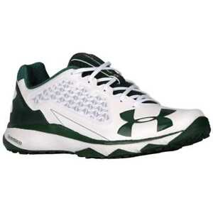 outlet online sneakers arriving Details about Under Armour UA Deception Trainer Turf Shoes Sz 8 - 10.5  Green White 1278723 130