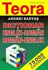 Teora English-Romanian and Romanian-English Dictionary by Andrei Bantas (Hardback, 1998)