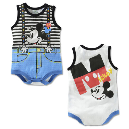Baby Newborn Boys Girls Lovely Cartoon Bodysuits Jumpsuit Romper Sunsuit Outfits