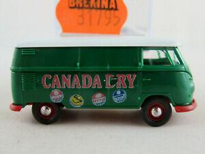 Brekina-31795-VW-Kastenwagen-T1b-1959-034-CANADA-DRY-034-in-gruen-1-87-H0-NEU-OVP
