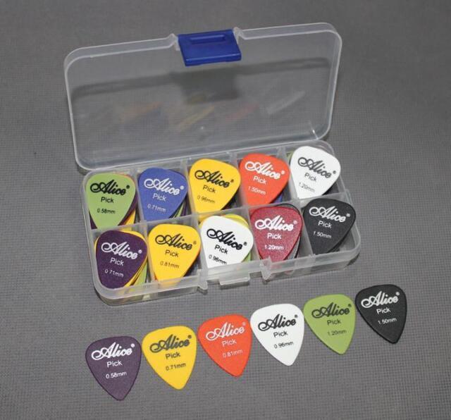 25pcs acoustic electric guitar picks plectrums pick bag assorted 6 new stylish for sale online. Black Bedroom Furniture Sets. Home Design Ideas