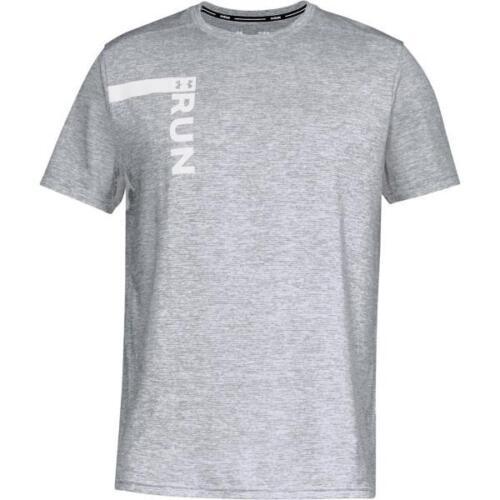 UA UNDER ARMOUR 1324500 Run Tall Graphic Men's Running Graphic T-Shirt