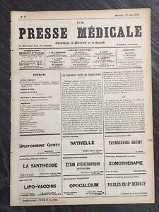 RARE-Louis-Destouches-Celine-les-derniers-jours-de-Semmelweis-Publication