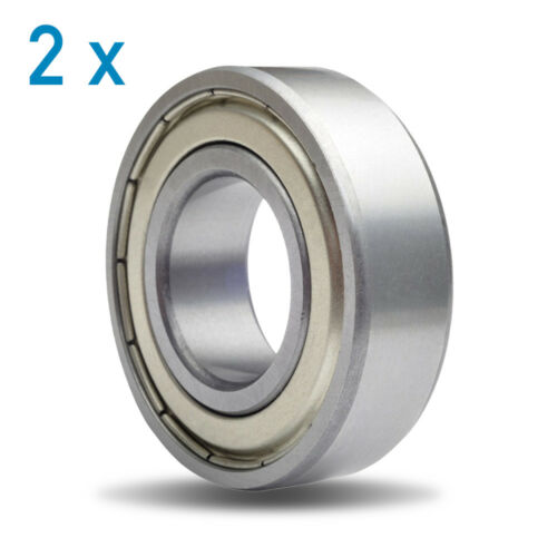 6001ZZ Metal Shielded Deep Groove Ball Bearing 12x28x8mm