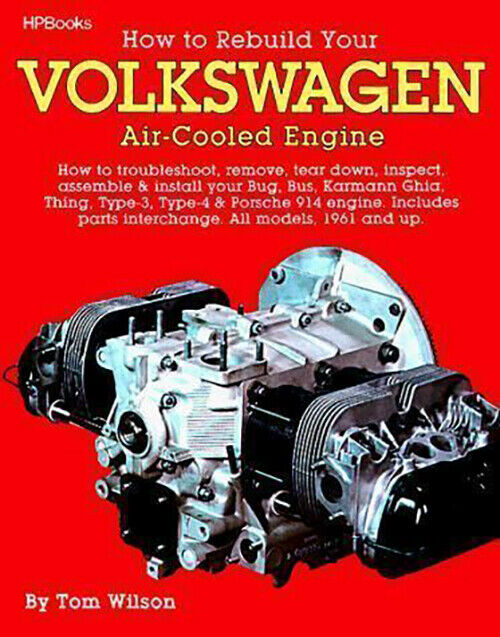 How To Rebuild Volkswagen Air-Cooled Engine Bus Ghia