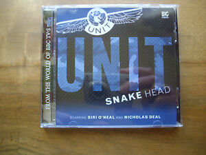 UNIT Snake Head 2005 Big Finish Audio Book CD - <span itemprop='availableAtOrFrom'>Leven, United Kingdom</span> - UNIT Snake Head 2005 Big Finish Audio Book CD - Leven, United Kingdom