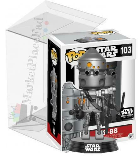 Funko POP! Star Wars - #103 IG-88 - Smuggler's Bounty Exclusive - W/Protector