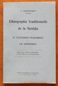 Ethnographie-traditionnelle-de-la-Mettidja-Le-VENDREDI-J-Desparmet-1935