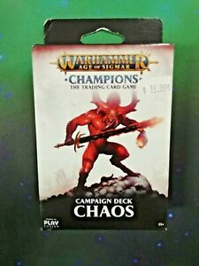 Warhammer Age of Sigmar - Champions TCG: Campaign Deck Chaos