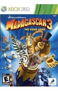 Madagascar 3 Xbox 360 Kids Game The Videogame