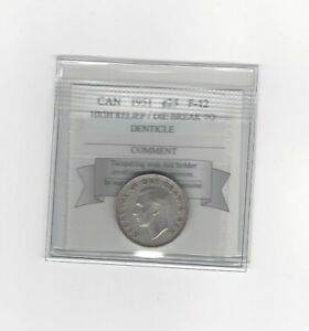 1951-HR-Coin-Mart-Graded-Canadian-25-Cent-F-12-DB-to-Denticle