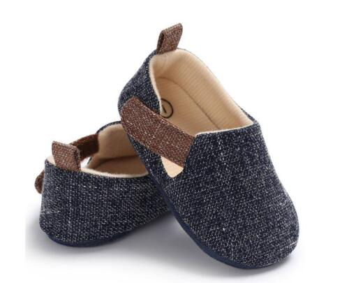 Newborn Baby Boy Girl Pram Shoes Toddler Pre Walker Trainers 3 6 9 12 18 Months
