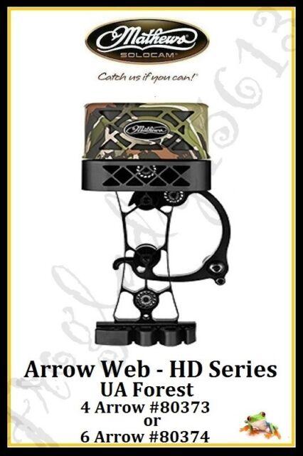 Mathews HD 6 Arrow Sitka Subalpine Archery Quiver Dampener Spider Clip