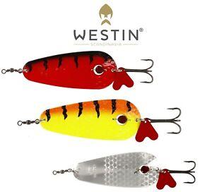 Westin-Lures-Fishing-Lure-Spoon-RAN-DRAGET-32g-Predator-Fishing-Bait-Tackle-Pike