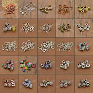 DIY-Dread-Dreadlock-Fabric-Wooden-Bead-Hair-Braid-Beads-Cuff-Clips-Jewelry-Gift