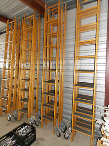 Putnam Rolling Ladder Library W 10ft Of
